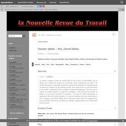 Dossier débat: Moi, Daniel Blake