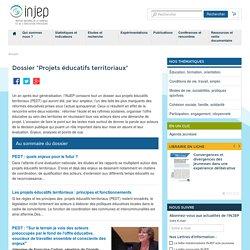 "Dossier ""Projets éducatifs territoriaux"""