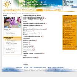 Dossier enseignants - - Espace info energie en Isere