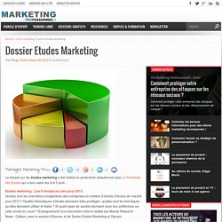 Dossier Etudes Marketing