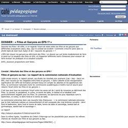 DOSSIER : « Filles et Garçons en EPS !? »