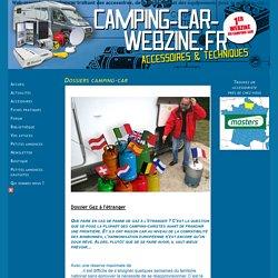 dossier gaz à l'etranger en camping-car