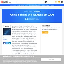 Dossier : Guide d'achats des solutions SD-WAN