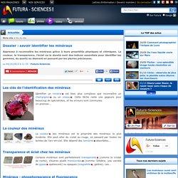 Dossier : savoir identifier les minéraux
