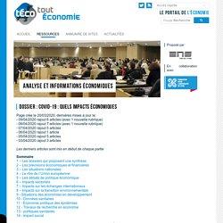 Dossier : COVID-19 : quels impacts économiques