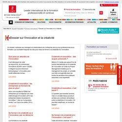 Dossier sur l'innovation et la créativité