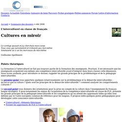 Franc-parler.org : Dossier : L'interculturel en classe de français