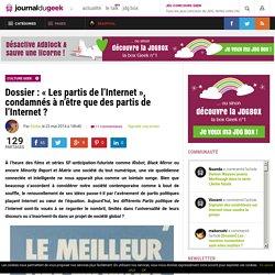 Dossier : «Les partis de l'Internet», condamnés à n'être que des partis de l'Internet ?