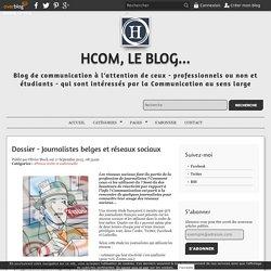 Dossier - Journalistes belges et réseaux sociaux