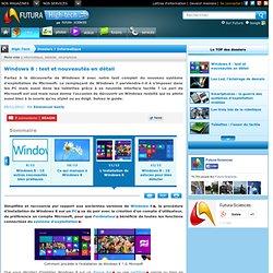 L'installation de Windows 8