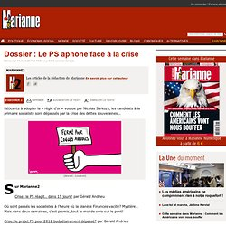 Dossier : Le PS aphone face à la crise