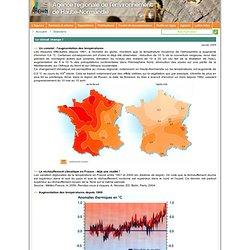 Dossier Le climat change !