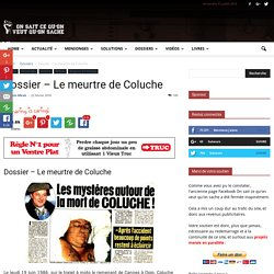 Dossier – Le meurtre de Coluche