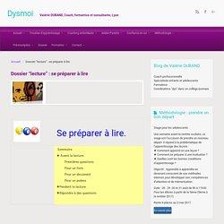 Dysmoi, le blog des dys, le site – Dossier «lecture» : se préparer à lire