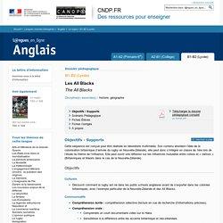 Dossier B1-B2 (Lycée) - Le rugby - Anglais - Langues en ligne - CNDP