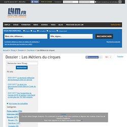 Dossier Les Métiers du cirque (Hauts-de-France)