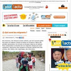Dossier spécial migrants - 1jour1actu