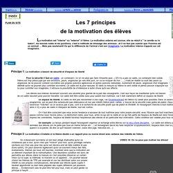 Dossier sur la Motivation scolaire