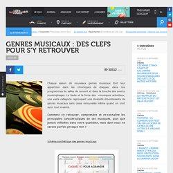 Dossier - Genres musicaux : des clefs pour s'y retrouver