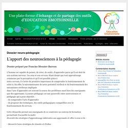 Dossier neuro-pédagogie