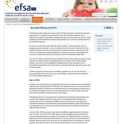 EFSA 11/05/09 Nouvelle influenza A (H1N1)