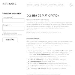Dossier de participation