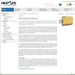 HEdS-FR - Dossier patient informatisé