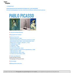 Dossier pédagogique: Pablo Picasso