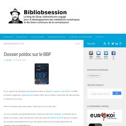 Dossier poldoc sur le BBF -