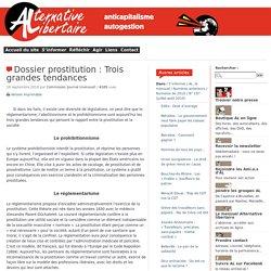 163. Dossier prostitution : Trois grandes tendances