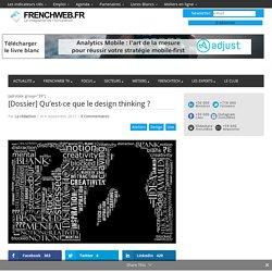 [Dossier] Qu'est-ce que le design thinking ?