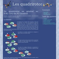 Dossier quadrirotors