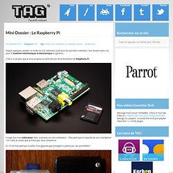 Mini-Dossier : Le Raspberry Pi - techartgeek