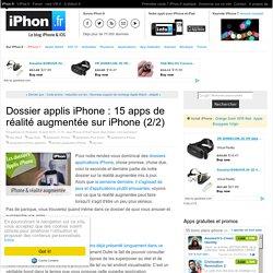 Dossier applis iPhone : 15 apps de réalité augmentée sur iPhone (2/2)
