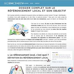 Dossier complet sur le référencement local et son objectif - Agence CSV
