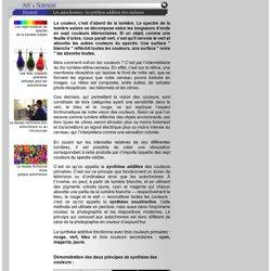 Dossier SagaScience - Art et Sciences