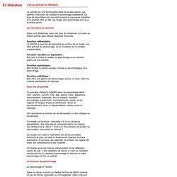 Dossier thématique - Le Portrait