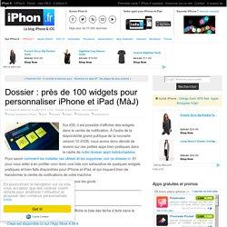 Découvrez plus de 30 widgets pour iPhone et iPad sous iOS 8 ! - iPhone 6, 6 Plus, iPad : le blog iPhon.fr