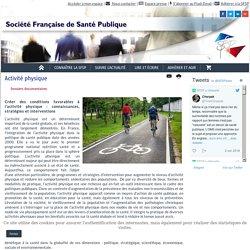 SFSP- Activité physique : dossier documentaire