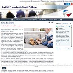 SFSP-Santé des enfants : dossier documentaire