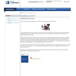 DOSSIERS DE L'INSTITUT - BPI group - Le Leadership dans tous ses états