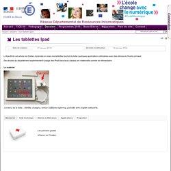 Les tablettes Ipad - RDRI du Rhône