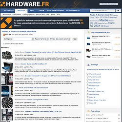 HardWare.fr: Articles