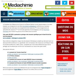 Dossiers Mediachimie - Nathan
