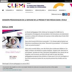 Dossiers pédagogiques de la Semaine de la presse et des médias dans l'école- CLEMI
