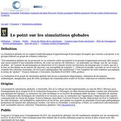 Franc-parler - Dossiers : Le point sur les simulations globales