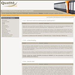 Outils - Dossiers thématiques Qualité Online