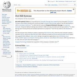 Dot Hill Systems - Wikipedia