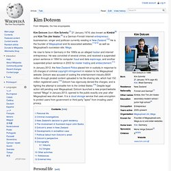 Kim Dotcom - Wikipedia, the free encyclopedia - Nightly