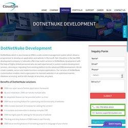 DotNetNuke, DNN, DotNetNuke offshore, DotNetNuke DNN- Development